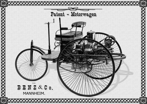 Benz a prvý automobil, motorwagen