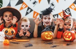 Deti a Halloween
