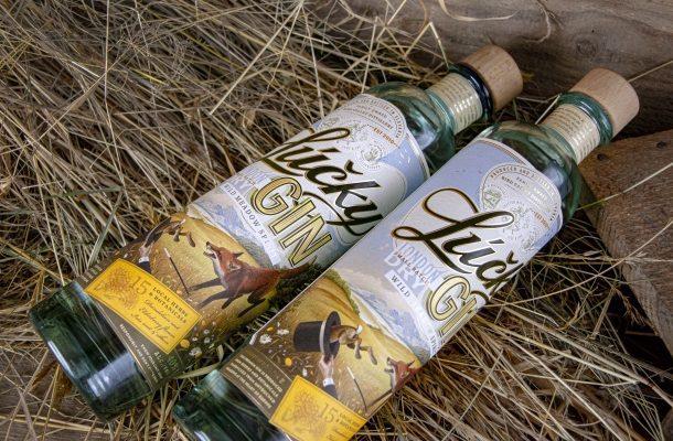 Lúčky Gin, slovenský džin londýnskeho typu z Bird Valley Distillery