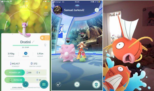 Pokémon Go mobilná hra 2020