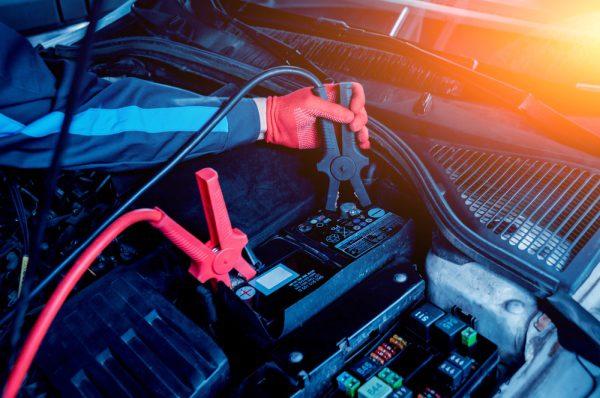 autobatéria a štartovanie