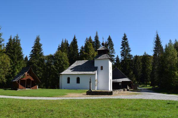 Vychylovka, múzeum kysuckej dediny, areál kysuckého múzea