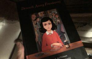 Denník anny Frankovej komiksová verzia