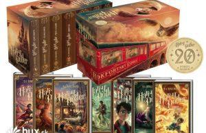 Harry Potter 20 výročie séria 7 dielov v jednom