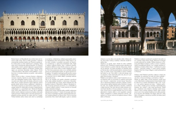 Večný Palladio, architekt renesancie, luxusná kniha