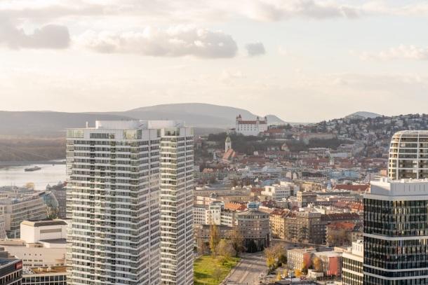 Klingerka Glajcha, Bratislava Ružinov, výhľad 115 metrov