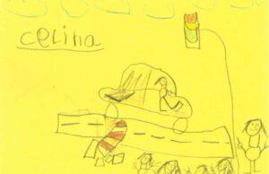kresbičky detí v meste Hamm identifikovali vodičku z nehody