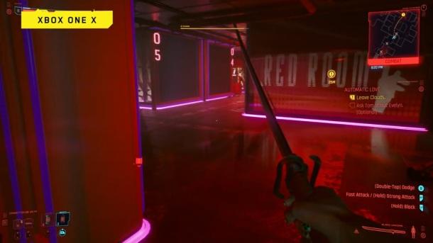 Cyberpunk 2077 XBOX One X screenshot gameplay