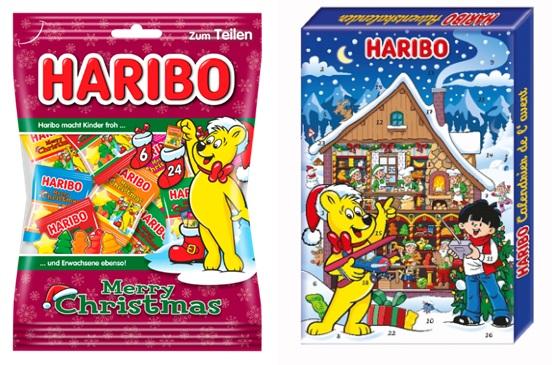 Haribo cukrovinky vianočná edícia 2020