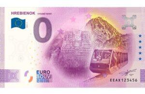 Vysokék Tatry, Hrebienok a 0 eurová suvenírová bankovka