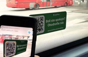 Staffino hodnotenie šoféra a jazdy v Slovak Lines