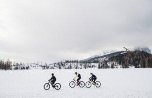 cyklistika v zime