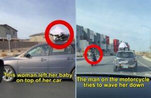 Dieťa na streche auta, zabudnutá autosedačka