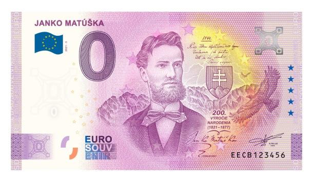 Janko Matúška 0 eur bankovka