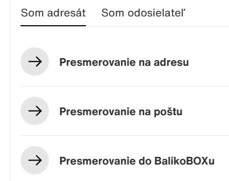 Slovenská pošta sledovanie zásielky