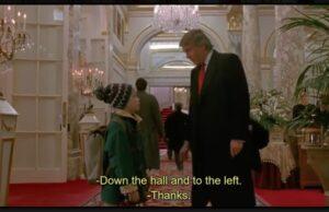 Sám doma, Donald Trump a Kevin McAlister, youtube