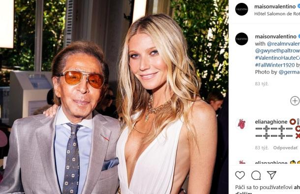 Valentino - módny návrhár a instagram