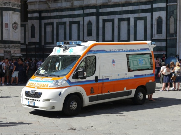 obrázok talianskej sanitky, ilustračná snímka