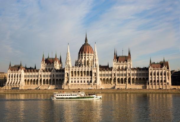 Budapešť BUdova parlamentu