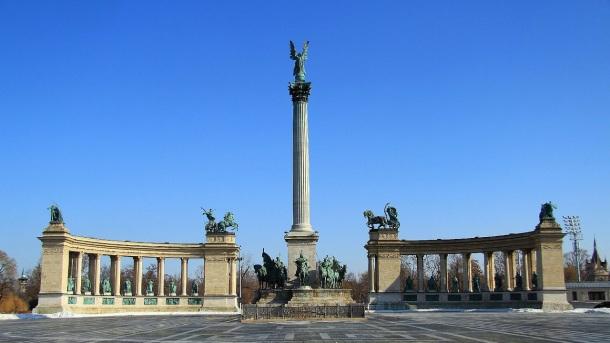 Hosok Tere námestie hrdinov, Budapešť