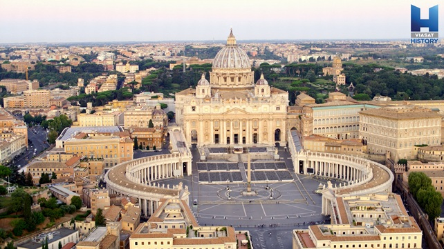 Vatikán intro, mesto pápežov