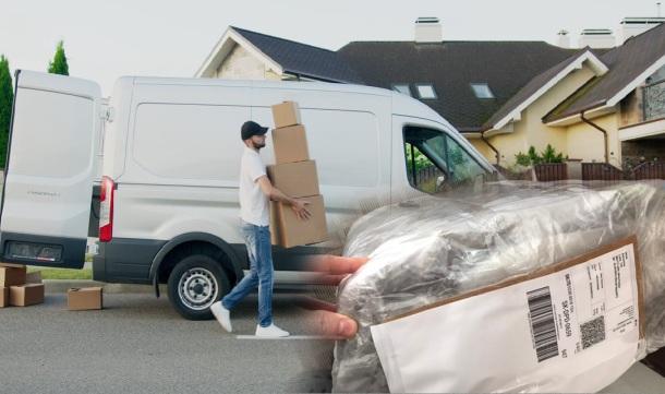 Balíček a doručenie, pošta a kuriér