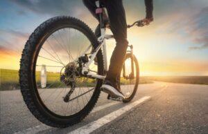 bicykel slnko