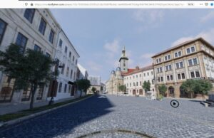 Bratislava, Rybné námestie a synagóga, historický pohľad