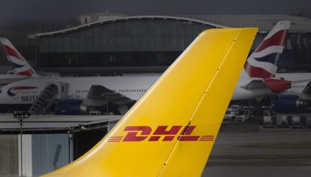 DHL lietadlo