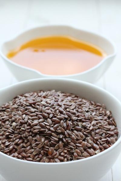 ľanové semienko a ľanový olej