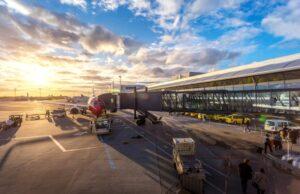 letisko, ilustračná fotografia