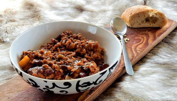 Chilli con carne a recept