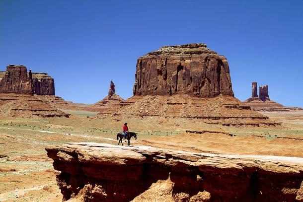 Indiánsky kmeň Navajo a Arizona