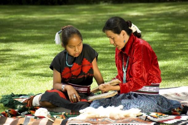 Indiánsky kmeň Navajo a ľudia