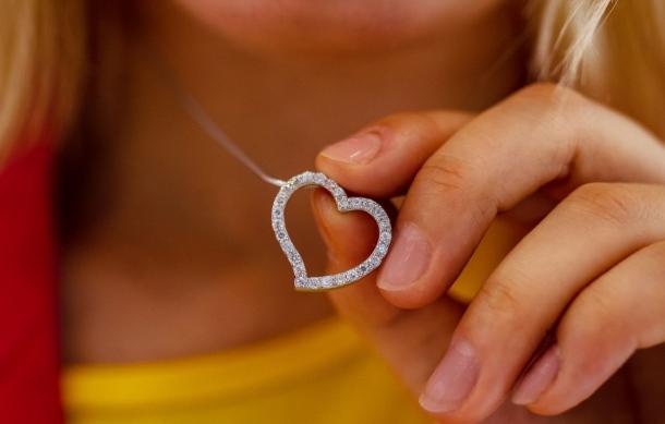 šperk srdce