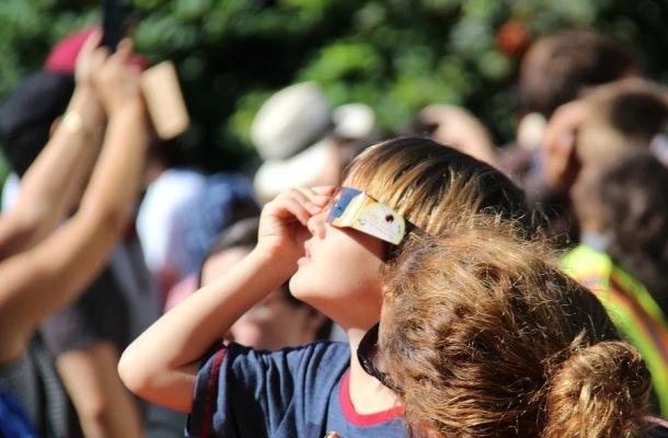 Pozorovanie Slnka a deti observatórium