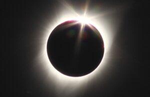 Zatmenie Slnka, ilustračná foto