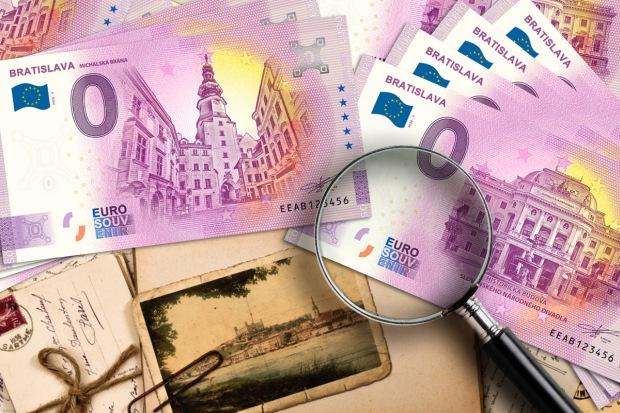 zberateľské dni 2021 0 eur bankovky