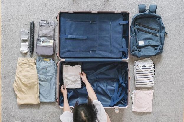 Balenie batožiny, cestovanie