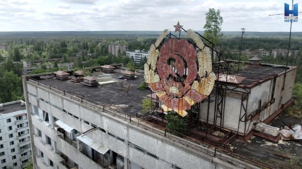 Opustené miesta URBEX Pripyať
