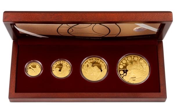 Zlaté investičné mince, Česká mincovna
