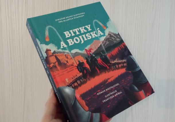 Bitky a bojiská, kniha o histórii a dejiny aj Slovenska