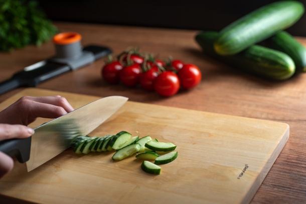 Krájanie uhorky
