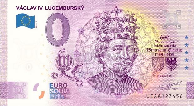 Václav IV. Luxemburský (Lucemburský) 0 eur