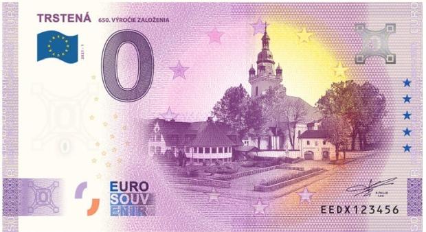 Trstená založenie 0 eurová bankovka, Orava