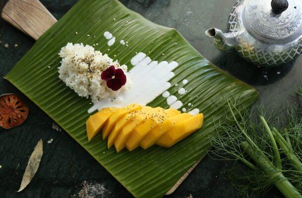Banánovníkove listy, banánové listy na servírovanie