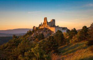Čachtice, Čachtický hrad